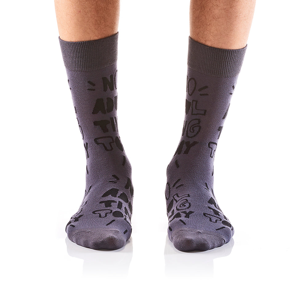 I'm An Adult: Men's Crew Socks - Yo Sox Canada