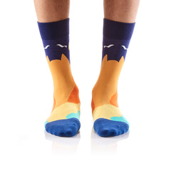Views: Men's Crew Socks - Yo Sox Canada
