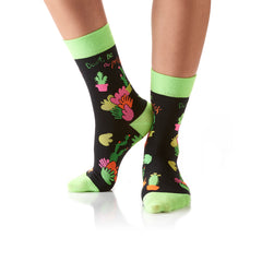 Don't be a Prick: Women's Crew Socks - Yo Sox Canada