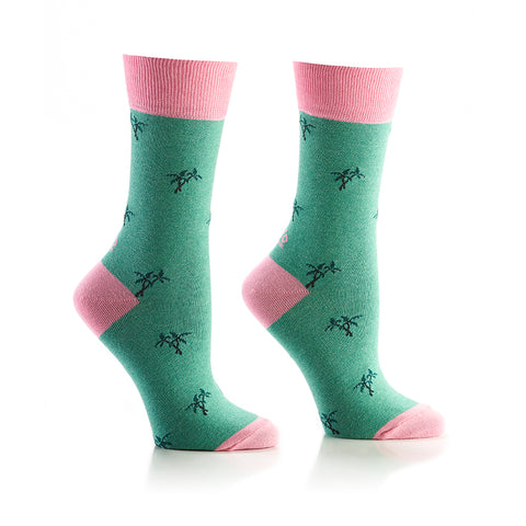 Mini Vacation: Women's Crew Socks - Yo Sox Canada