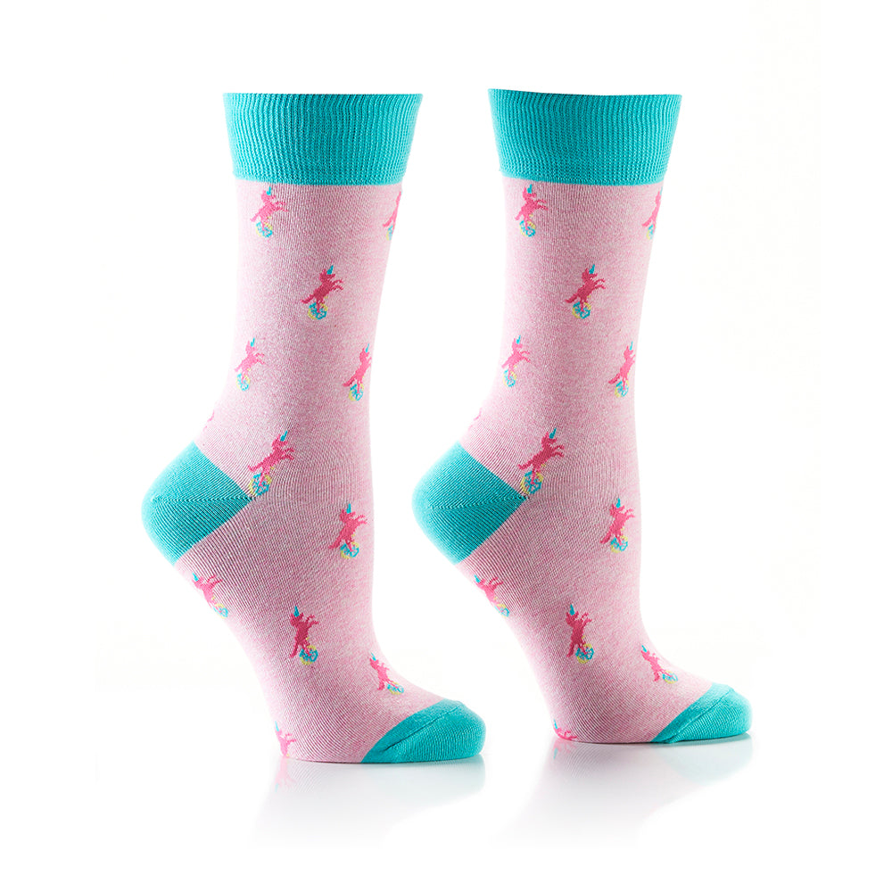 Unicycle: Women's Crew Socks