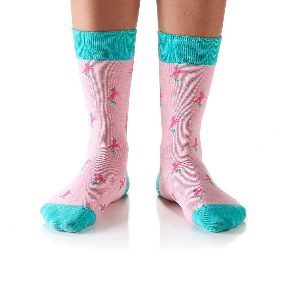 Unicycle: Women's Crew Socks - Yo Sox Canada
