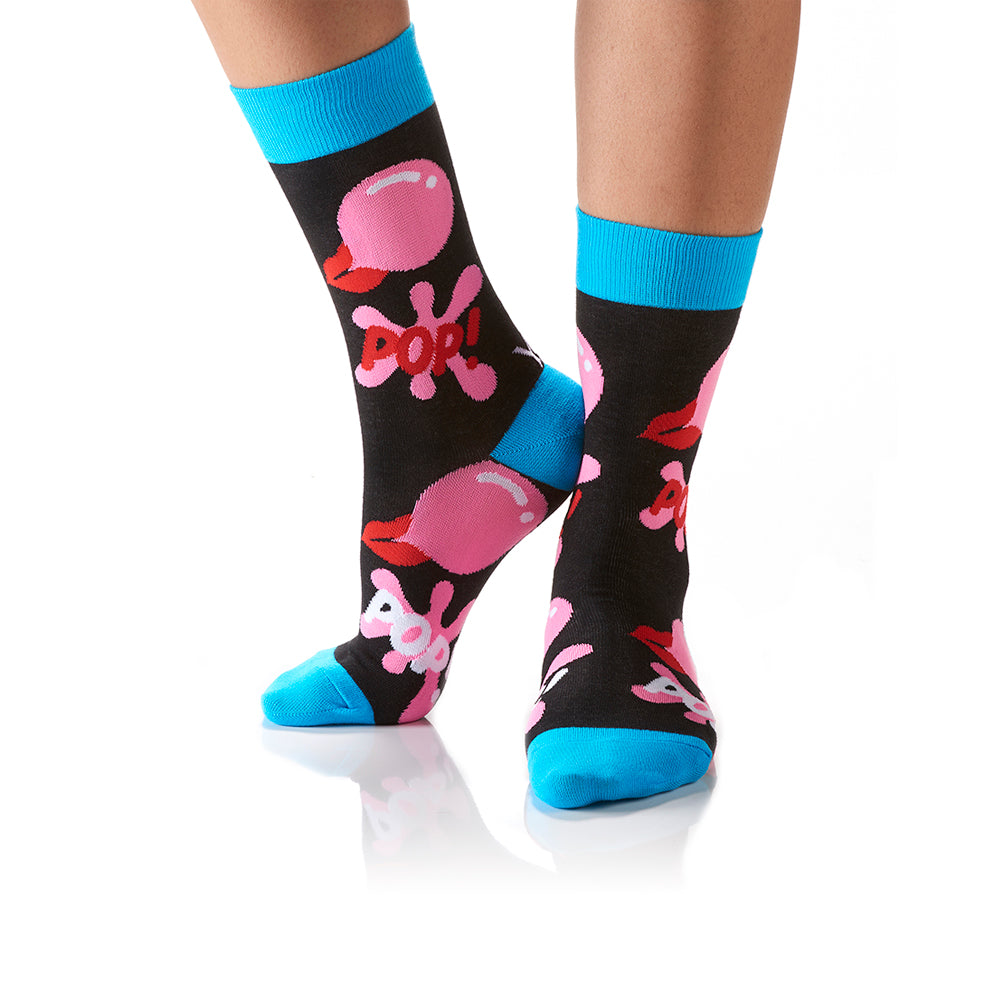 POP!: Women's Crew Socks - Yo Sox Canada