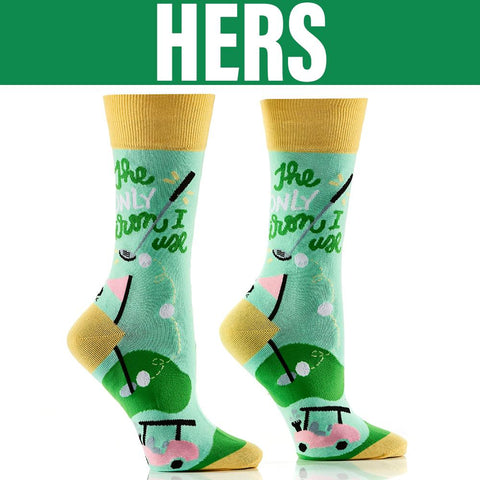 Golf Girl: His & Hers Socks - Yo Sox Canada