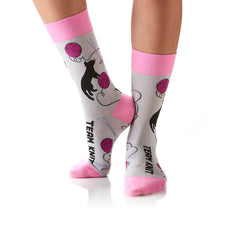 Team Knit: Women's Crew Socks