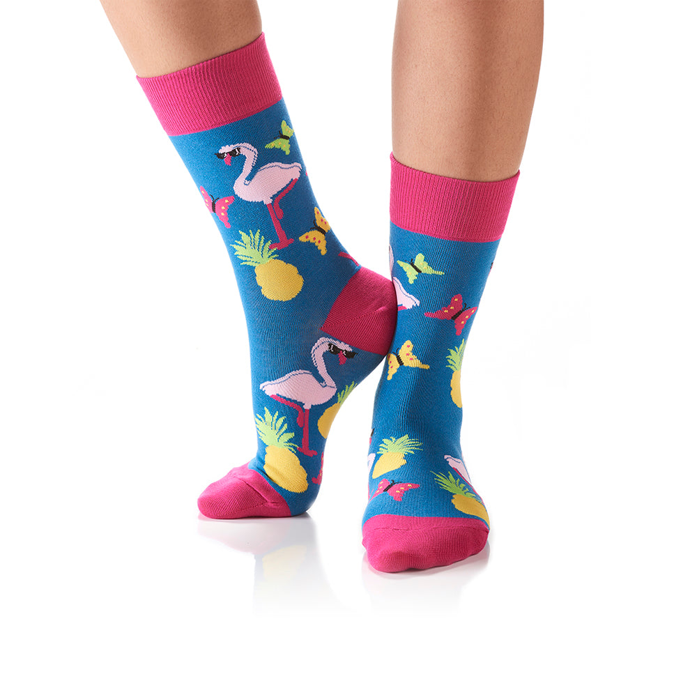 What the Flock: Women's Crew Socks - Yo Sox Canada