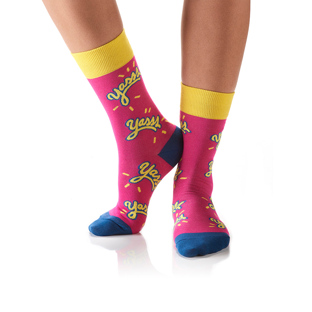 Yasss: Women's Crew Socks