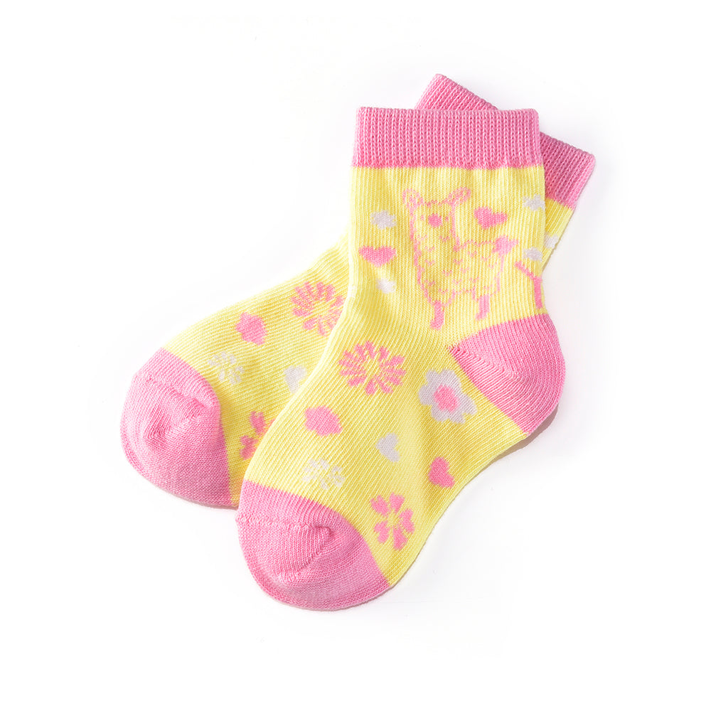 Lovely Llama: Toddler Socks (Age 1-2) - Yo Sox Canada