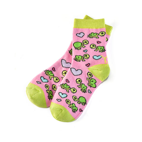 Turtley Awesome: Kids Socks (Age 3-6) - Yo Sox Canada