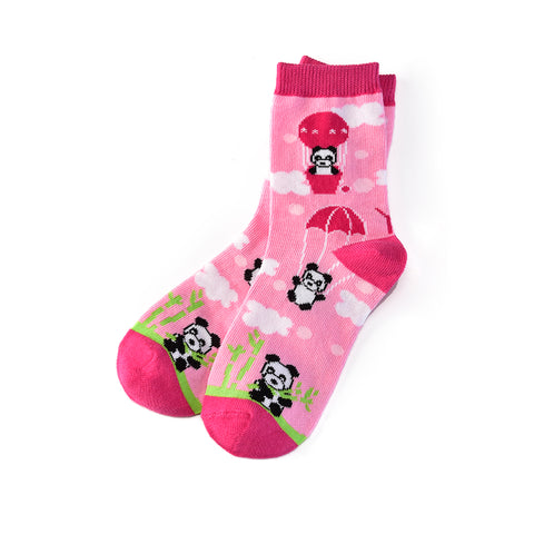 Panda Land:Youth Socks (Age 7-10) - Yo Sox Canada