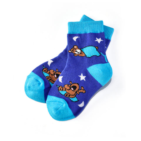 Bedtime Bear: Toddler Socks (Age 1-2) - Yo Sox Canada