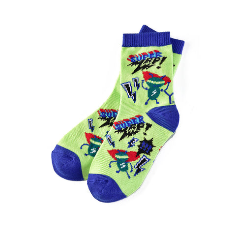 Super Electric: Kids Socks (Age 3-6) - Yo Sox Canada