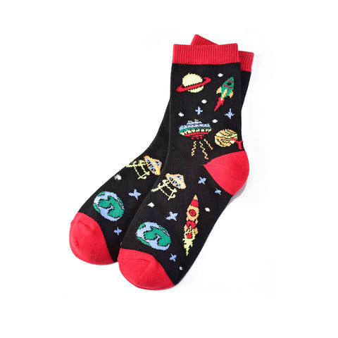 Out of this World: Youth Socks (Age 7-10) - Yo Sox Canada