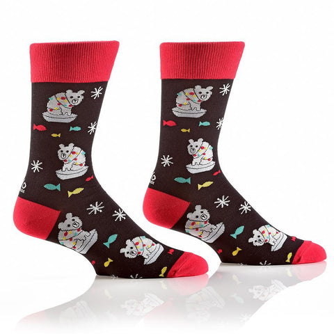 North Polar Bears: Men's Crew Socks