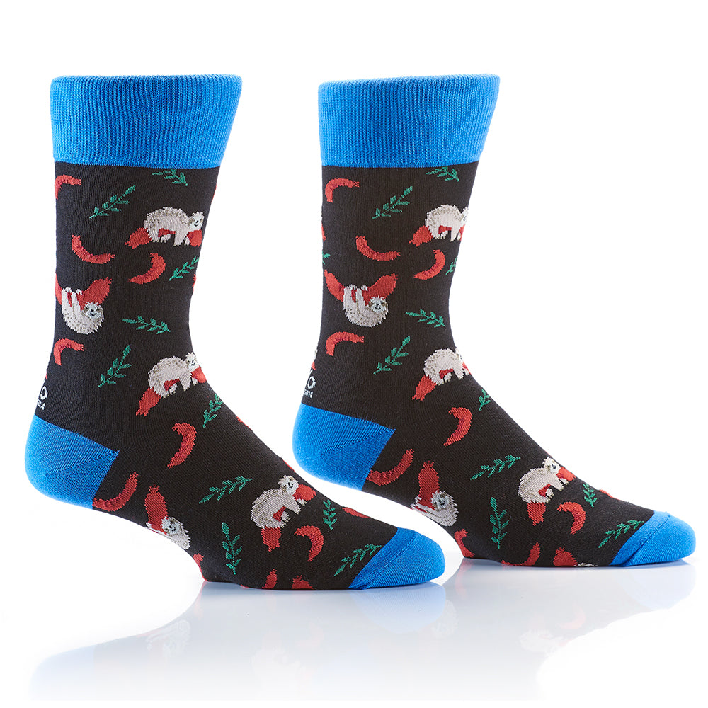 Hold The Buns: Men's Crew Socks - Yo Sox Canada