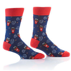 Morning Fuel: Men's Crew Socks - Yo Sox Canada