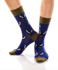 The Hunt: Men's Crew Socks - Yo Sox Canada