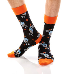 Slam Donuts: Men's Crew Socks - Yo Sox Canada