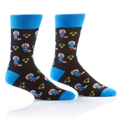 Football Champs: Men's Crew Socks - Yo Sox Canada
