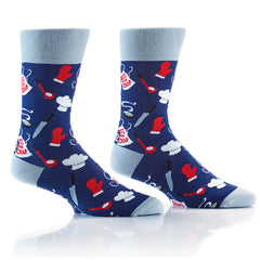 Chef: Men's Crew Socks - Yo Sox Canada