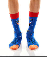 Birthday Suit: Men's Crew Socks - Yo Sox Canada