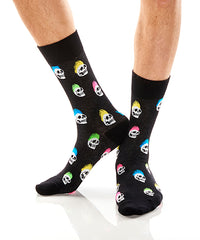 Skull Hawk: Men's Crew Socks - Yo Sox Canada