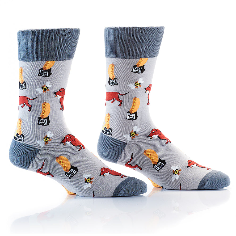 Top Dog: Men's Crew Socks