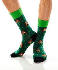 Dollar Bills: Men's Crew Socks - Yo Sox Canada
