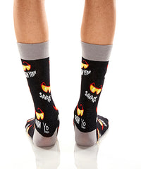 Vintage Macho: Men's Crew Socks - Yo Sox Canada