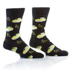 No Punch Backs: Men's Crew Socks - Yo Sox Canada