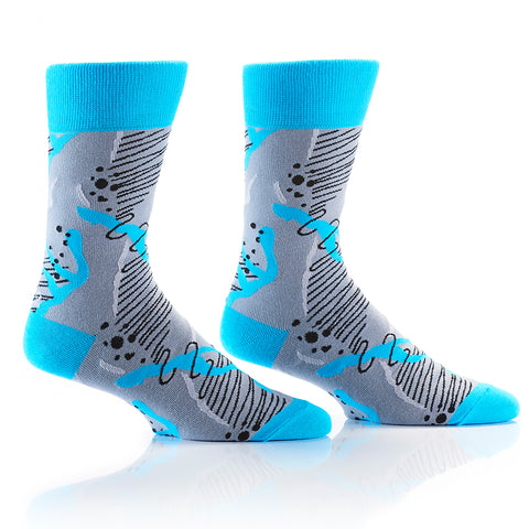 Pop Art: Men's Crew Socks - Yo Sox Canada