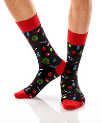 Teacher: Men's Crew Socks - Yo Sox Canada
