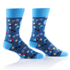 Officer: Men's Crew Socks - Yo Sox Canada