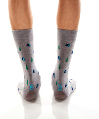 Camp Out: Men's Crew Socks - Yo Sox Canada