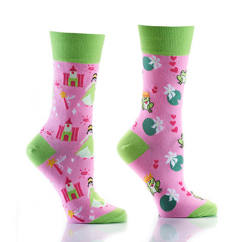 Princes & Frog: Women's Crew Socks - Yo Sox Canada
