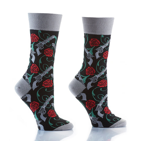 Rock N Roll: Women's Crew Socks - Yo Sox Canada