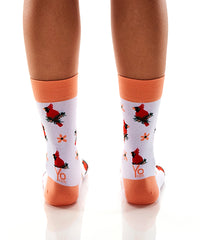 Cardinal Messages: Women's Crew Socks - Yo Sox Canada