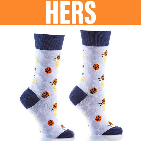 B-Ball Girls: His & Hers Socks - Yo Sox Canada