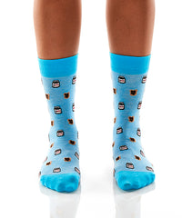 Snack Of Champions: Women's Crew Socks - Yo Sox Canada