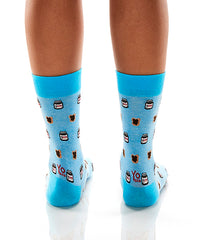 Snack Of Champions: Women's Crew Socks