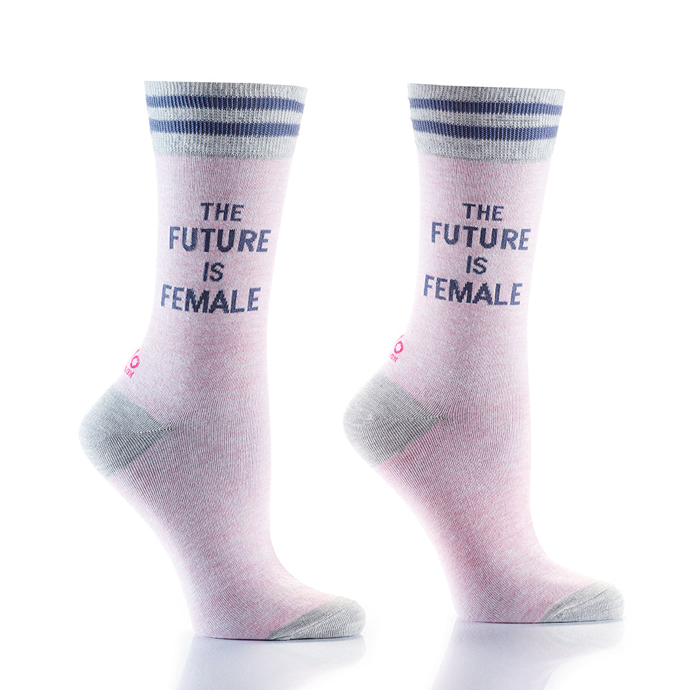 Future Females: Women's Crew Socks - Yo Sox Canada