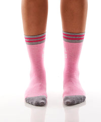 Girl Boss: Women's Crew Socks - Yo Sox Canada
