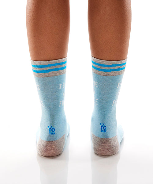 Femme & Fierce: Women's Crew Socks - Yo Sox Canada
