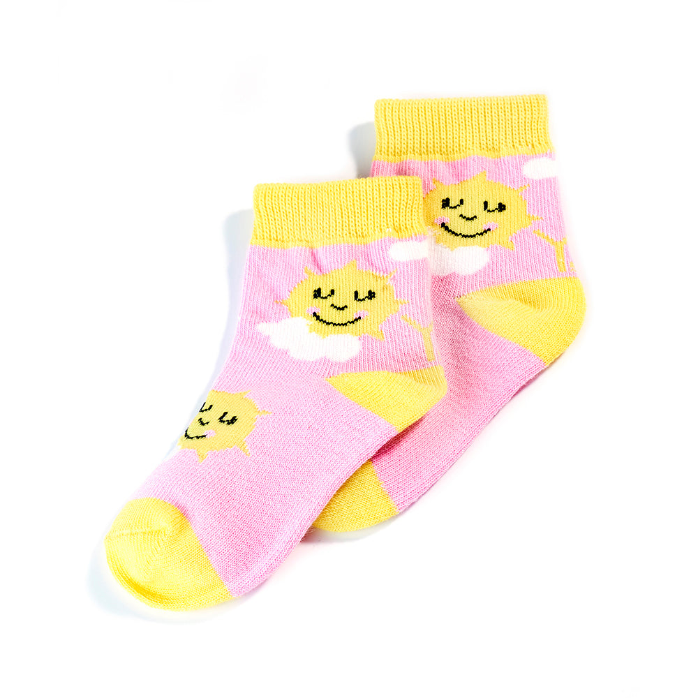 Sunshine: Toddlers Socks (Age 1-2) - Yo Sox Canada