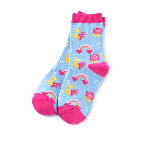 BFF: Youth Socks (Age 7-10) - Yo Sox Canada
