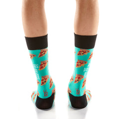 Pizza Lover Mens Crew Sox