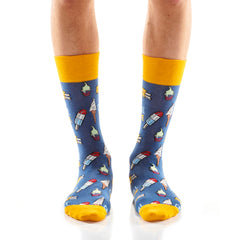 Chill Time Mens Crew Sox