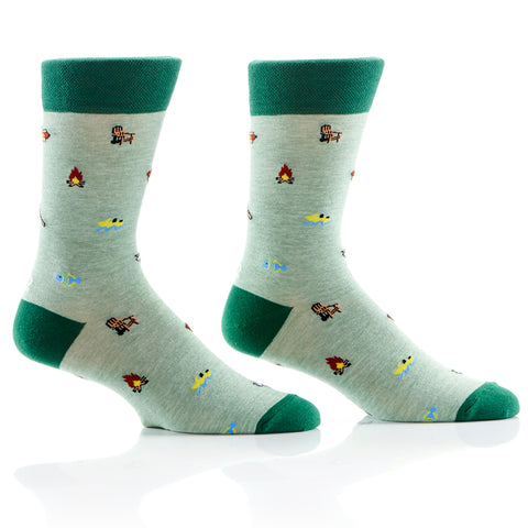 Cottage Day Mens Crew Sox