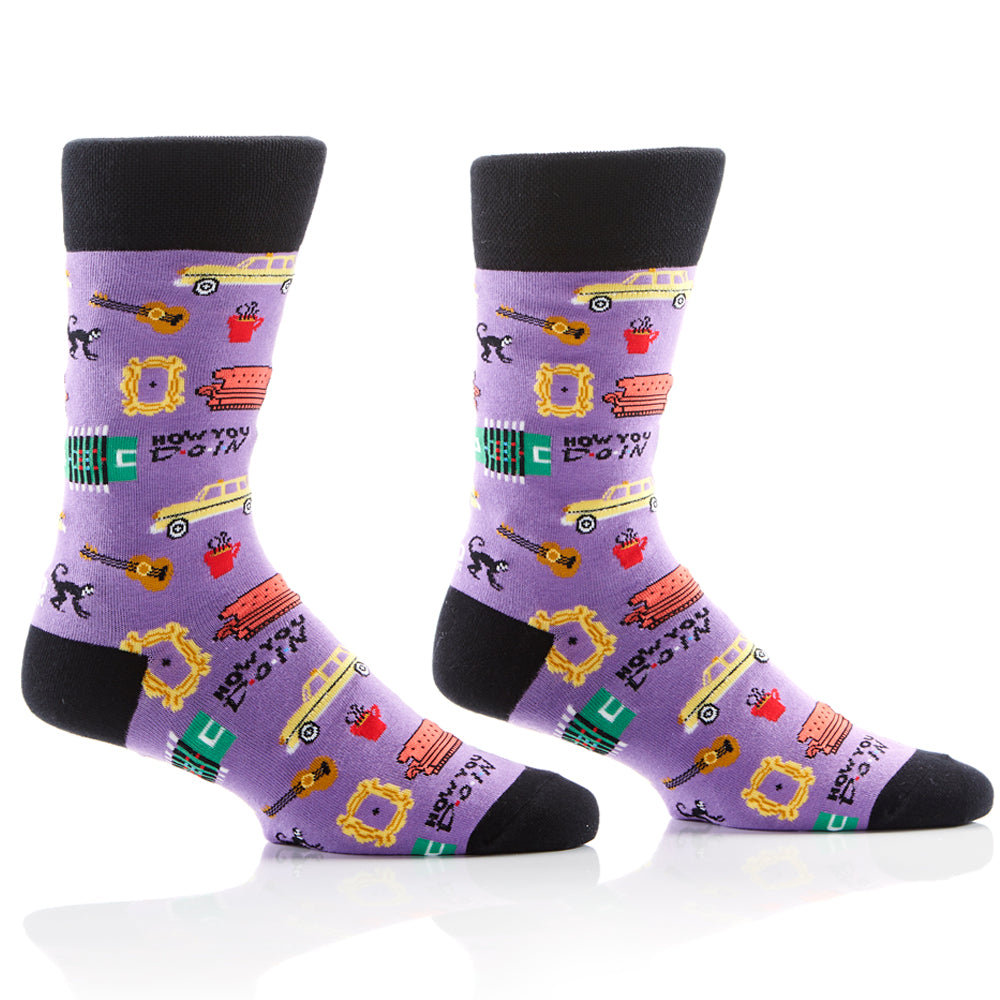 Coffee Crew Unisex Crew Sox