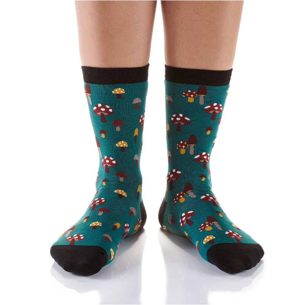 Woodsy Fairy Womens Crew Sox